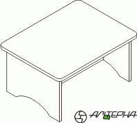 Стол игровой МИ-15.34_00