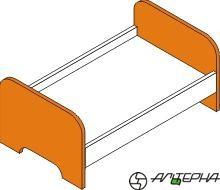 Кровать игровая МИ-9