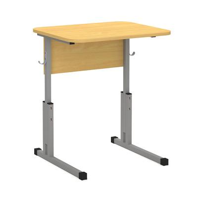 Стол ученический скр. 16 мм пластик 1-о мест. с рег. высоты 5-7 Лц.КР 5-7-т25 Лц.С1ПК-16/1 Лицей