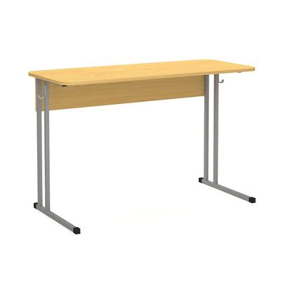 Стол ученический скр. 22 мм 2-х мест. нерегулируемый по высоте Лц.КН 1-7-т20 Лц.С2Д-22/2 Лицей