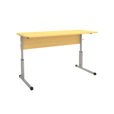 Стол ученический 16 мм пластик 2-х мест. с рег. высоты 5-7 Лц.КР 5-7-т25 Лц.С2П-16/2 Лицей