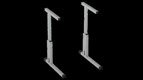 Каркас стола регулируемый по высоте 5-7 с фурнитурой Лц.КР 5-7-т25 Лицей