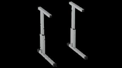 Каркас стола регулируемый по высоте 3-5 с фурнитурой Лц.КР 3-5-т25 Лицей