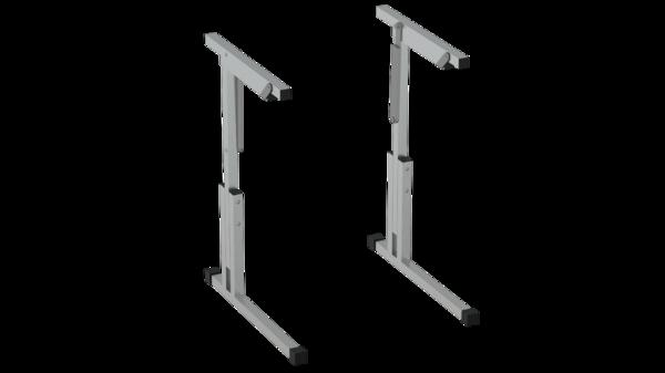 Каркас стола рег. по высоте и углу наклона 5-7 с фурнитурой Лц.КРН 5-7-т25 Лицей