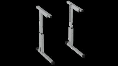 Каркас стола рег. по высоте и углу наклона 3-5 с фурнитурой Лц.КРН 3-5-т25 Лицей