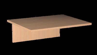 Столешница 16 мм пластик 1-о мест.  Лц.С1П-16/2 Лицей