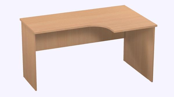 Стол компьютерный угловой Р.РС-16-Прав Референт