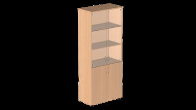 Шкаф для бумаг со стеклом Р.Ш-2СБ Референт