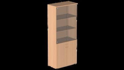 Шкаф для бумаг с тонированным стеклом Р.Ш-2СТ Референт