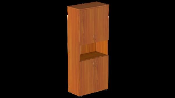 Шкаф для бумаг закрытый с нишей Р.Ш-4 Референт