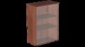 Шкаф для бумаг средний со стеклом Р.Шс-3СБ Референт