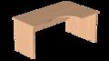 Стол эргономичный угловой Р.СКУ-14-Прав Референт