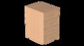 Тумба приставная на 4 ящика с замком Р.Т-4.1 зЦ Референт