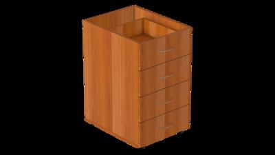 Тумба на 4 ящика без крышки Р.Т-4.3 Референт